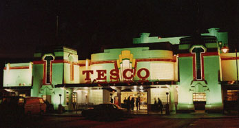 Glass Blocks used at Tescos