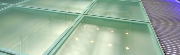 Specialists in glass flooring and glass block installation